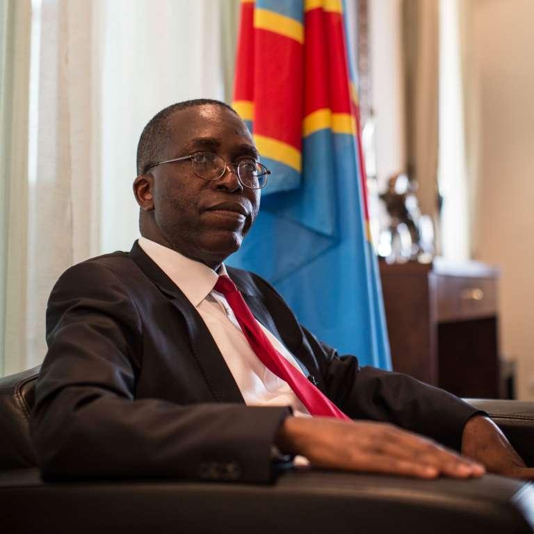 Le premier ministre congolais, Augustin Matata Ponyo, en avril 2015 à Kinshasa.
