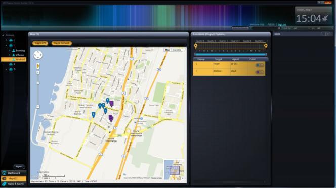 Capture d'écran de la documentation du logiciel Pegasus découverte lors du piratage de l'entreprise Hacking Team (concurrent de NSO Group) en 2015.