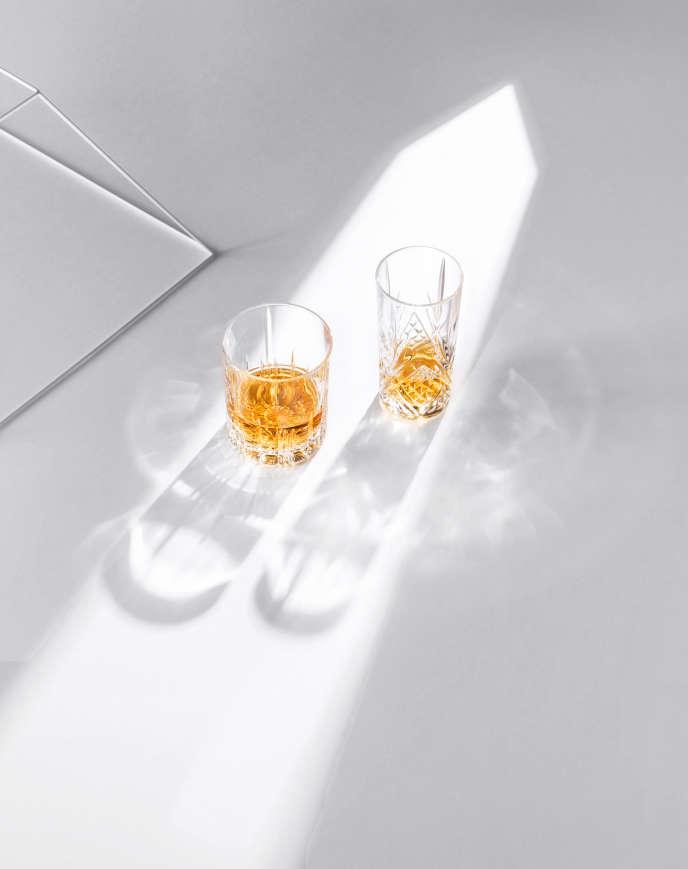 Si le marché français du whisky est aujourd'hui stable, les single malts continuent de progresser.Décor Éli Serres.