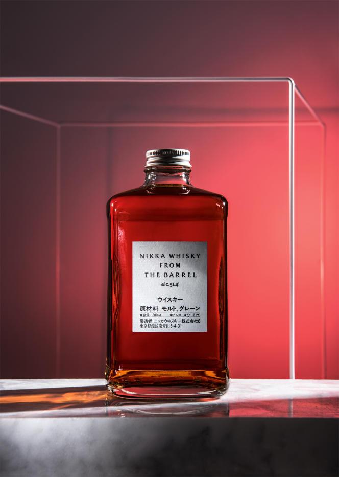 Depuis une dizaine d'années, les whiskys japonais montent en puissance en France (ici, From the Barrelde Nikka).