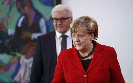 Angela Merkel, le 9 novembre à Berlin.