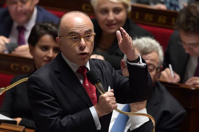 Bernard Cazeneuve, le 15 novembre, à l'Assemblée nationale.
