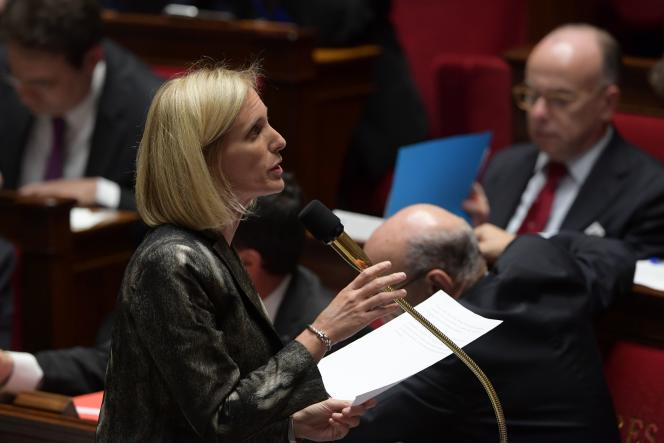 Ségolène Neuville, secrétaire d'Etat chargée des personnes handicapées et et de la lutte contre l'exclusion, s'est félicitée du nombre de bénéficiaires de la prime d'activité.