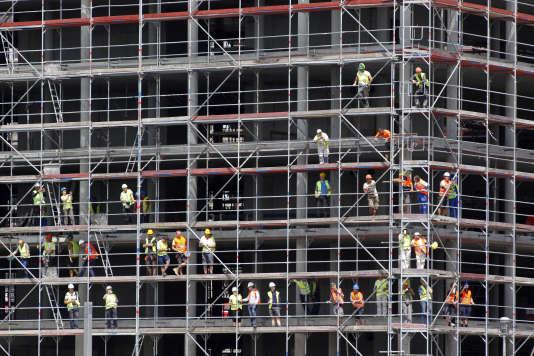 L'Allemagne compte sur la bonne santé du secteur de la construction pour relancer une croissance qui faiblit.