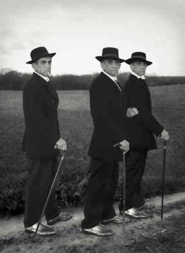 Hommage à August Sander, Jeunes Paysans, Westerwald, 1914-2014.