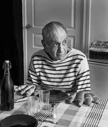 Hommage à Robert Doisneau, Les Pains de Picasso,1952-2013.