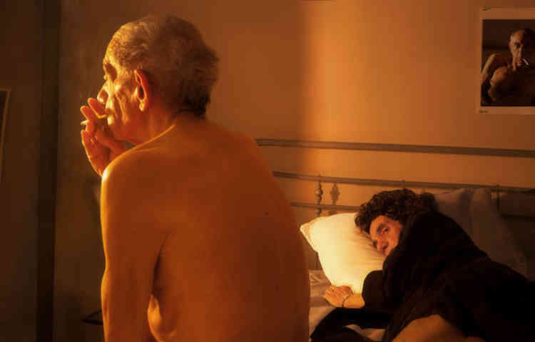 Hommage à Nan Goldin, Nan and Brian in Bed, N.Y.C, 1983-2014.