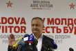 Le candidat prorusse Igor Dodon, élu cinquième président de la République de Moldavie, au cours d'une conférence de presse, le 13 novembre 2016.