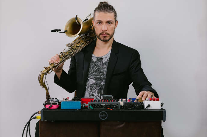 Le saxophoniste Guillaume Perret.