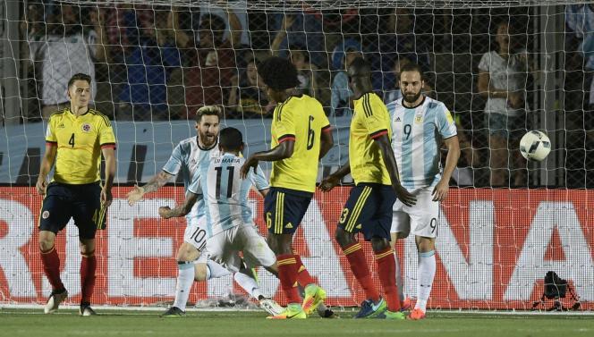 Lionel Messi et l'Argentine ont battu la Colombie.