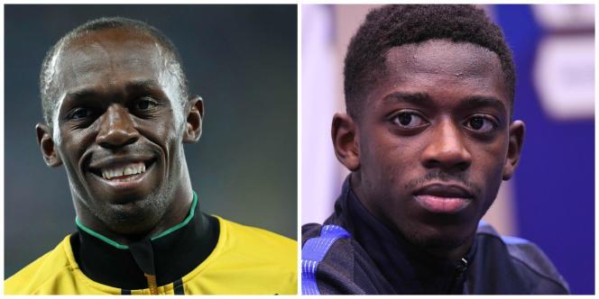 Usain Bolt s'invite dans l'équipe de foot d'Ousmane Dembélé.