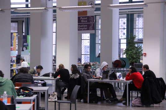 A l'université Aix-Marseille : la bibliothèque du campus Saint-Charles