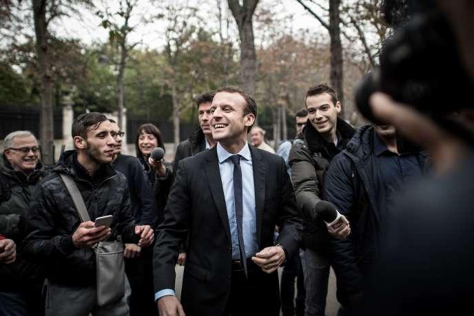 Emmanuel Macron, à Paris, le 26 octobre.