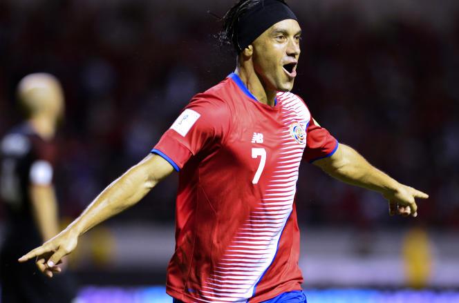 Cristian Bolanos et le Costa Rica ont battu les Etats-Unis.