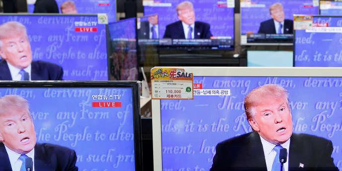 Donald Trump à la télévision, le 27 septembre.
