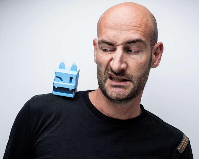 Fabien Delpiano, co-organisateur d'IndieCade Europe.