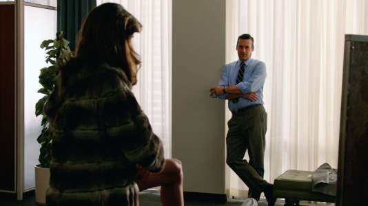 Jon Hamm (Don Draper), dans « Mad Men ».