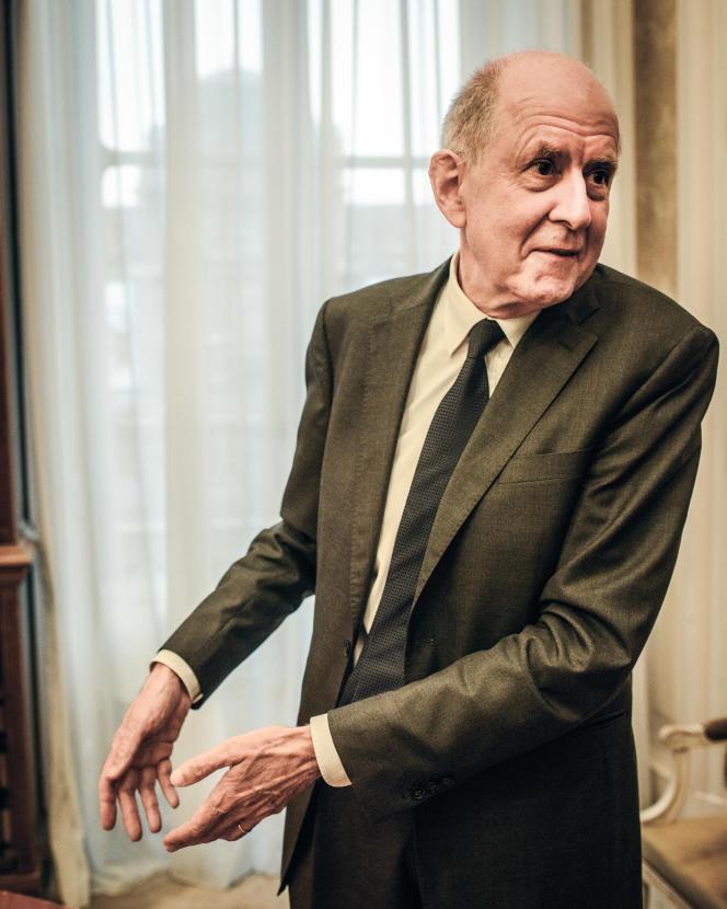 Jean-Marc Sauvé, le vice-président du Conseil d'Etat, le 15 novembre, à Paris.