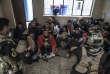 Quartier Saddam, Mosul, le 9 novembre 2016  Les forces spéciales de Isof 1et Isof 3 (Golden Division, ICTF) achèvent de prendre le contrôle du quartier Saddam, encore occupé par les membres de l'organisation Etat Islamique dans les jours précédents. Les habitants sont invités à déménager quand les hommes de la Golden Division établissent dans leur maison une position qui la rend dangereuse, ou lorsque qu'elle située dans une rue en combats.  Une trentaine de civils se sont rassemblé dans une des maison contrôlées par Isof 1.   Photo Laurent Van der Stockt / Le Monde  Mosul, November 9, 2016  The Iraqis Special Operations Forces ( Isof 1, ISF), ( Major Salam Jassem Hussein Al Obeid) in  Saddam, a eastern district of Mosul.  Photo Laurent van der Stockt
