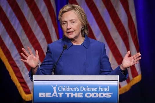 Hillary Clinton, le 16 novembre, à Washington.
