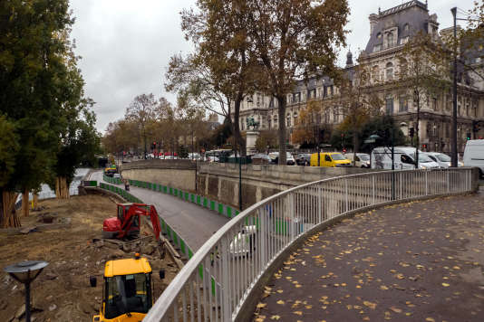A Paris, le 16 novembre.