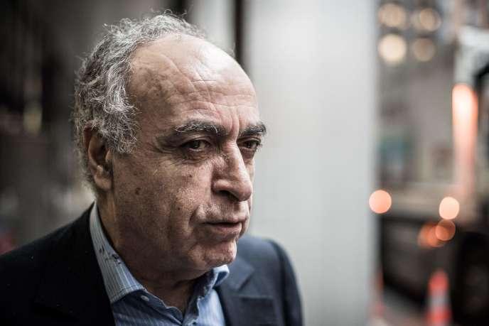 L'homme d'affaires Ziad Takieddine, à Nanterre, le 17 novembre.