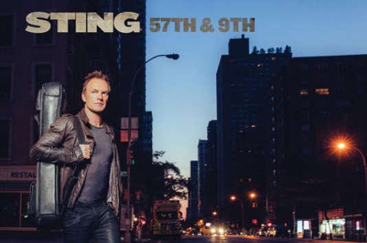 Pochette de l'album«57th & 9th», de Sting.
