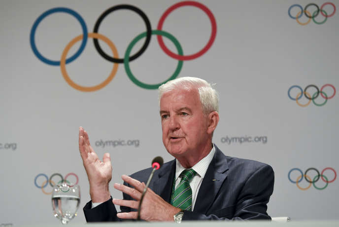 Craig Reedie, président de l'Agence mondiale antidopage, le 2 août, à Rio, lors des Jeux olympiques.