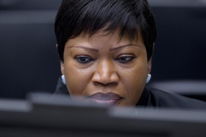 La procureure de la CPI, Fatou Bensouda, ici le 28 janvier 2016, a ouvert en début d'année une enquête sur les crimes commis lors du conflit russo-géorgien de l'été 2008.