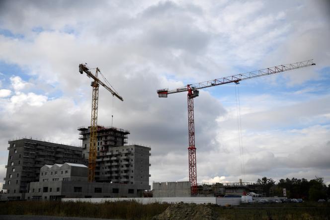 Le logement neuf a tiré le secteur, avec près de 380 000 logements mis en chantier, en 2016.