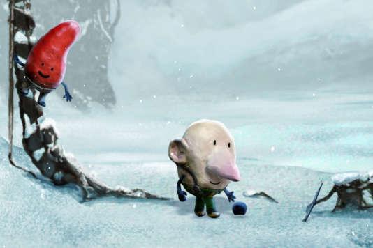 Une image du court-métrage d'animation danois de Jacob Ley, «Le Secret de la fleur de glace » (2012).