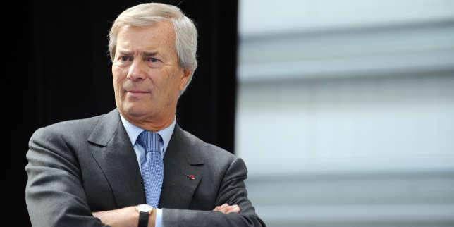 Vincent Bolloré, le 16 janvier 2015.