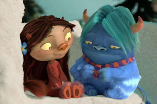 Une image du court-métrage d'animation norvégien d'Endre Skandfer, « Dunder ».