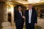 Shinzo Abe, le premier ministre japonais, et Donald Trump, le 17 novembre, à New York.