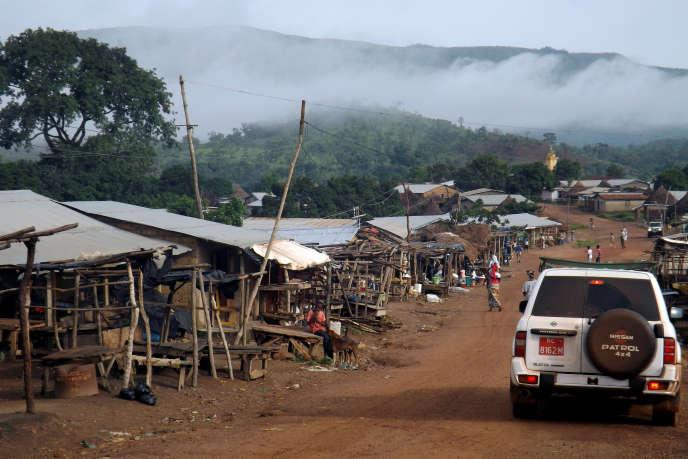 Les montagnes de Simandou, en Guinée.