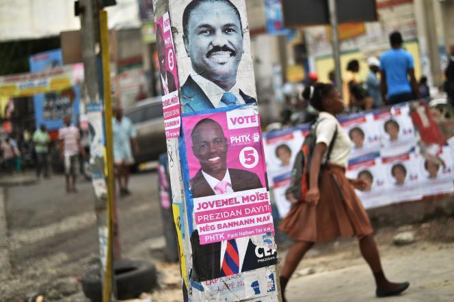 A Port-au-Prince, le 15 novembre.