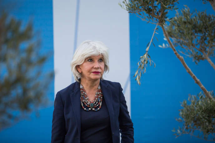 Laurence Tubiana, ambassadrice française des négociations climatiques, à Marrakech pour la Cop 22.
