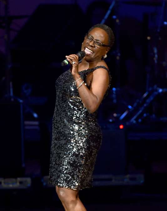 Sharon Jones, le 23 mars 2015 au Carnegie Hall.
