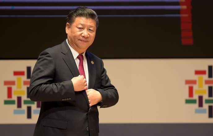 Le président chinois Xi Jinping lors du sommet de l'APEC à Lima, le 19 novembre 2016.