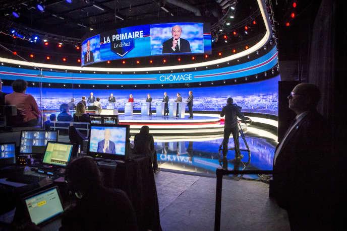 Premier débat de la primaire de la droite, le 13 octobre sur TF1.