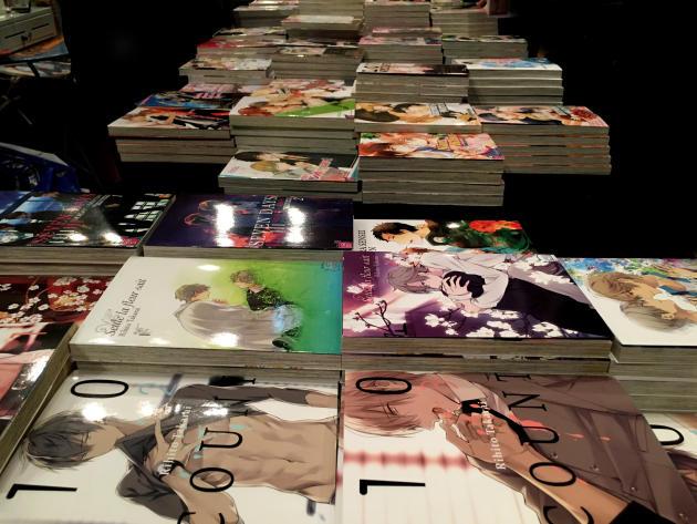 Le catalogue« yaoi» français est très varié.