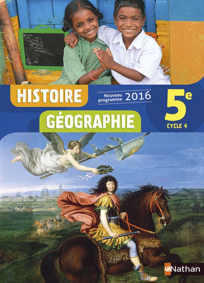 Manuel d'histoire-géographie 5e, éd. Nathan 2016.