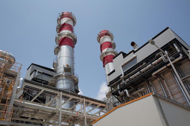 La centrale à gaz de Ciprel à Abidjan.
