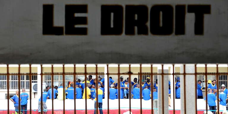 A la prison centrale de Makala, à Kinshasa.