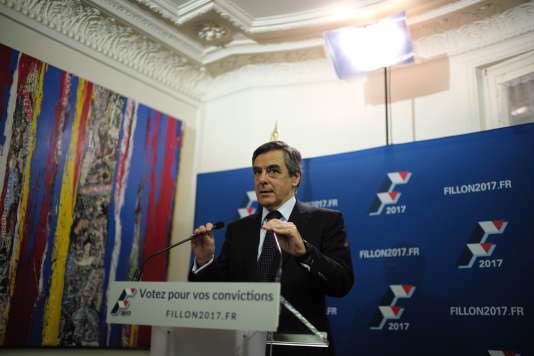 François Fillon, dimanche 20 novembre.