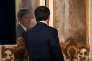 «Les données de la balance des paiements et des comptes financiers montrent que la banque centrale d'Italie a acheté l'essentiel des obligations publiques italiennes à des investisseurs résidents italiens. C'est le signe d'une perte de confiance des investisseurs domestiques envers les actifs financiers nationaux». (Photo: le premier ministre italien Matteo Renzi lors de la conférence de presse à l'occasion de ses mille jours de gouvernement, à Rome, le 18 novembre).