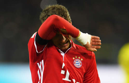 Thomas Mueller près la défaite du Bayern face au Borussia Dortmund, samedi19 novembre.