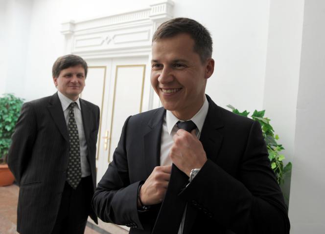 Boris Boillon, à Carthage, le 17 février 2011, alors qu'il était ambassadeur de France en Tunisie.