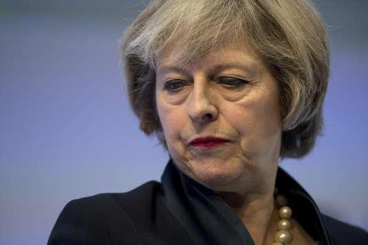 La première ministre britanique Theresa May, le 21 novembre.
