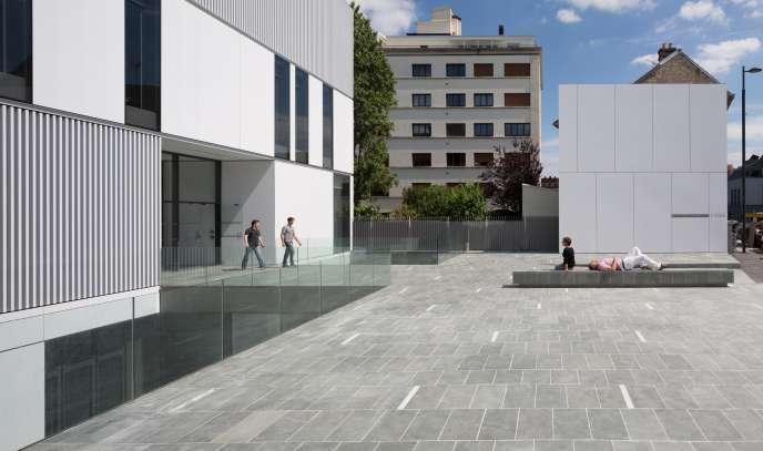 «L'Ode», le conservatoire municipal de Vanves, consacré à la musique, à la danse et à l'art dramatique.